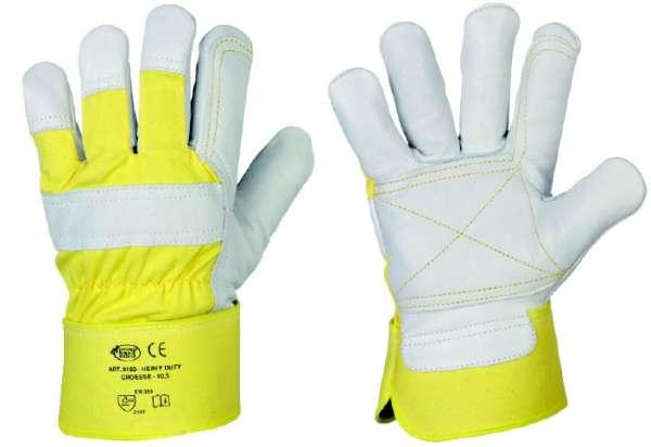 HEAVY DUTY Rindvollleder Handschuhe