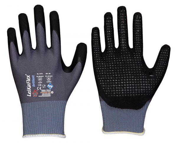 Leikaflex® Brilliant 1471 NFT® Micro-Nitril-Beschichtung+Noppen