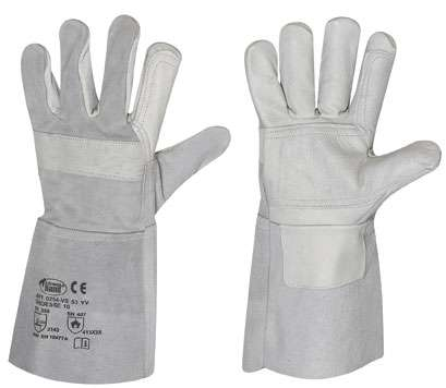 Rindleder-Handschuhe für Schweißer VS 53 VV