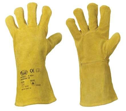 Rindspaltleder-Handschuhe für Schweißer S 53/F