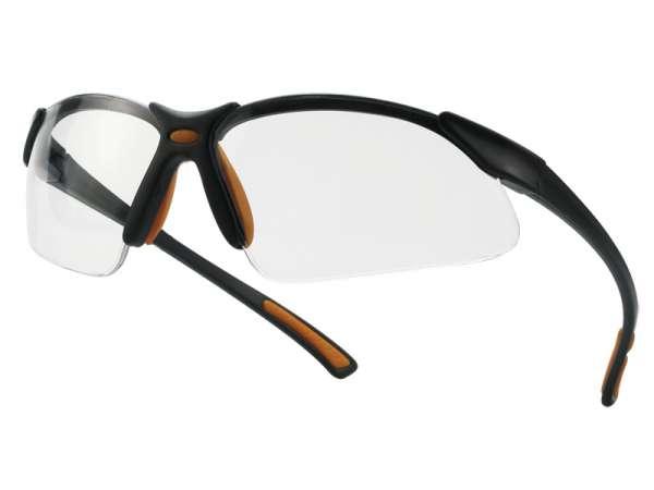 Schutzbrille Sprint - klar & grau