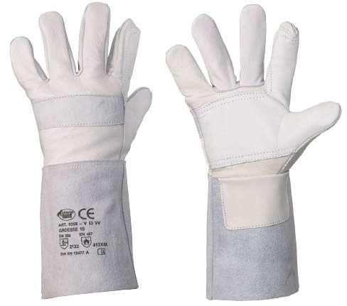 Rindvollleder-Handschuhe für schweißer V53 VV