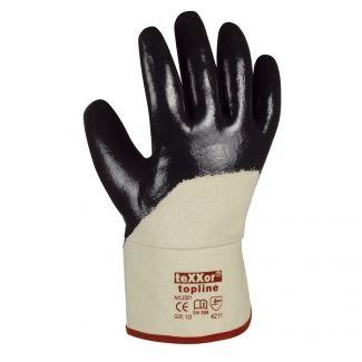 Texxor Topline 2321 Nitril Handschuhe Stulpe