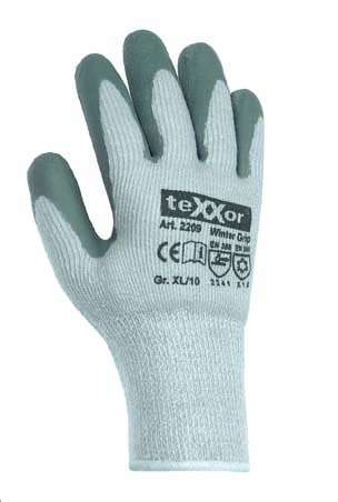 Latex Arbeitshandschuhe Winter Grip