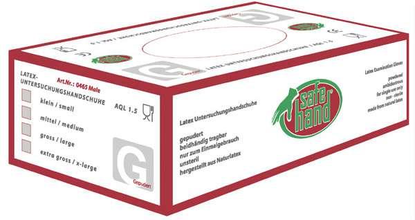Latex Einweghandschuhe COLOMBO (ungepudert)