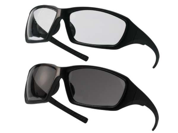 Schutzbrille Vision - klar & grau