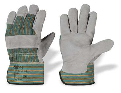 6-120 Paar Arbeitshandschuhe Rindspaltleder Handschuhe Möbel Leder
