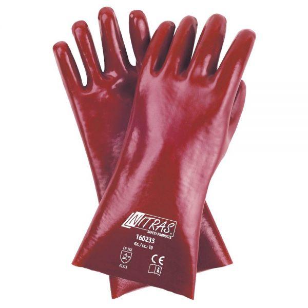 NITRAS PVC-Handschuhe, Baumwoll-Trikot 160235