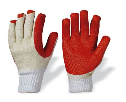 Latex Arbeitshandschuhe SUPERGRIP